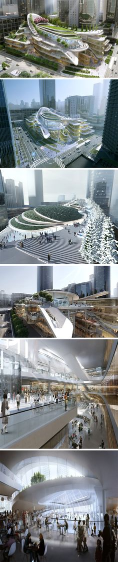TheChina World Trade Center phase 3C development by Aedas.