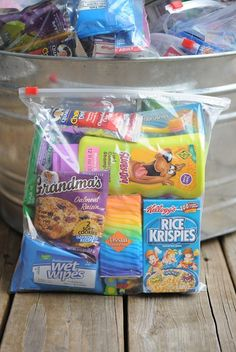 help the homeless with your kids with diy goody bags to hand out