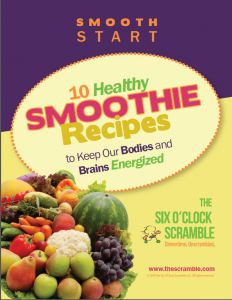 $3.99 Make my 10 best healthy fruit and vegetable smoothies that your whole family will love! Bonus build your own smoothie chart.
