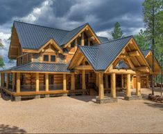 Exterior - Quality Log Cabins and Timber Frame Houses from Latvia
