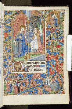 Book of Hours, MS M.312 fol. 27r - Images from Medieval and Renaissance Manuscripts - The Morgan Library & Museum