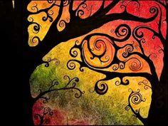 Tree of life zentangle Art Painting, Art Photography, Tree Art, Tree Painting, Art Projects, Painting, Cute Art, Silhouette Art, Canvas Art