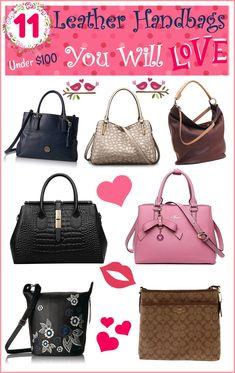 92b5f2379ef3 11 Leather Handbags under  100 You will Love  Sweet2018 Best Handbags