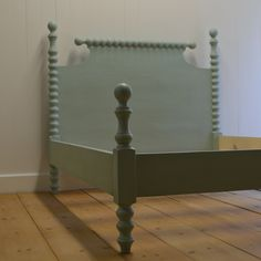 Saundra Spindle Bed - English Farmhouse Furniture Manufacturing - Ann Bradshaw Kirchofer