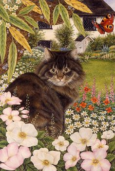 Anne Mortimer —  Country Cat  (468x700)