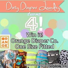 Orange Diaper Co. One Size Fitted Giveaway. {Ends 4/20}
