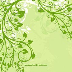 Monday's Guest Freebies ~ Freepik ✿ Follow the Free Digital Scrapbook board for daily freebies: https://www.pinterest.com/sherylcsjohnson/free-digital-scrapbook/ ✿ Visit GrannyEnchanted.Com for thousands of digital scrapbook freebies. ✿ Green Leaf flower Free Vector