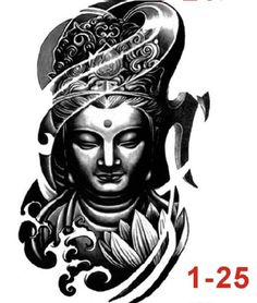 New Waterproof Flower Tattoo 3D Tattoo Sticker Mechanical Tattoo Male Women Body Paint Temporary Body Rocker Tattoo