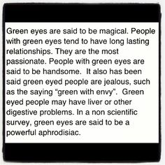 Well this is good to know....I guess I am a dedicated magical passionate jealous person who may have liver problems.