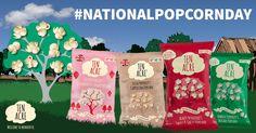 Celebrate National Popcorn Day with Ten Acre.  All #Vegan #Veggie #GlutenFree #DairyFree #MSGFree