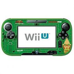 HORI La Legenda de Zelda Retro Protector para Wii U GamePad