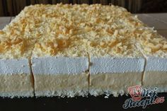 "de The post Cake ""Icy Sky"" Top-Rezepte.de appeared first on Win Dessert. Cheesecake Recipes, Cookie Recipes, Dessert Recipes, Desserts, Cheesecake Cookies, Lemon Roulade, Baguette Recipe, Food Cakes, No Bake Cookies"