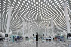 Shenzhen Bao'an International Airport Terminal 3, an Organic Mission by Studio Fuksas - Archute