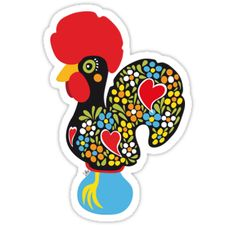 Cool > Famous #Rooster 01 #Sticker < thanks :) - #RoosterOfBarcelos #GaloDeBarcelos