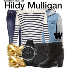 Inspired by Kathleen Robertson as Hildy Mulligan on Murder in the First. Kathleen Robertson, Murder In The First, Tv Show Outfits, Character Outfits, Polyvore Outfits, Autumn Winter Fashion, Style Me, Style Inspiration, Lady