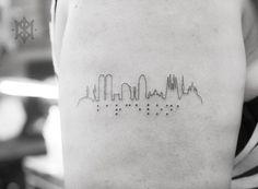 ·Barcelona skyline· by Vity Fernández