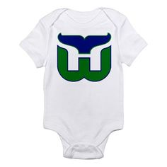 Hartford Whalers Infant Bodysuit Baby Shirts 0754fdff3