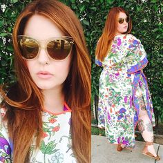 Hippie babe Tess Holliday