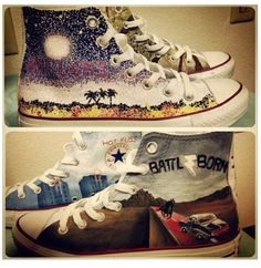The Killers Converse Shoes :O
