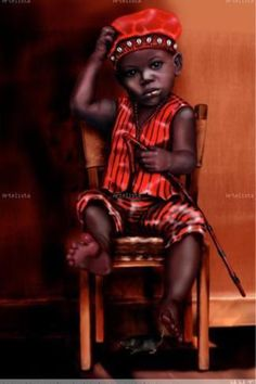 Elegba/Elegua, usually depicted as a playful boy in Cuba (by Marisol Machado Iglesias, Cuba/Spain). Ifa Religion, Yoruba Religion, Orishas Yoruba, Papa Legba, African Artwork, Penelope, Tattoo Project, Africa Art, Black Artwork