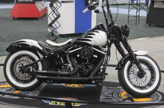 """Big Slim"" is definitely the perfect name for this blacked out, customized 2014 Harley-Davidson Slim. 