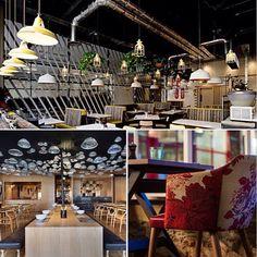 Diferentes restaurantes con diferentes estilos
