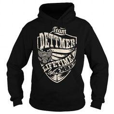 I Love Last Name, Surname Tshirts - Team DETTMER Lifetime Member Eagle T shirts