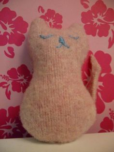 Felted+Sweater+Projects | ... .....here is the second small project from my sad shrunken sweater