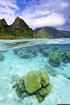 The Samoan island chain