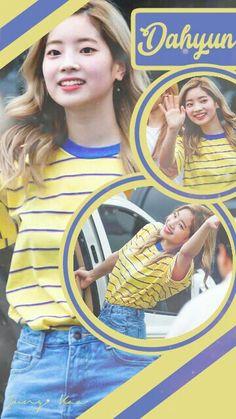 Wallpaper Dahyun TWICE South Korean Girls, Korean Girl Groups, Aesthetics Tumblr, Warner Music, Merry Happy, Twice Once, Twice Dahyun, Fandom, Twice Kpop