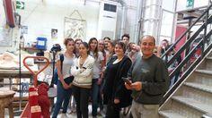 Visita ai laboratori dell'artigianato artistico per gli allievi della cl.1B a.s.2015/16 Liceo artistico Stagi Pietrasanta. La Fonderia Versiliese dei F.lli Lucarini.