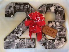 Custom Alphabet Collage Numbers for Birthdays, Boyfriend/Girlfriend Gift, Michael Jordan Numbers on Etsy, $199.95