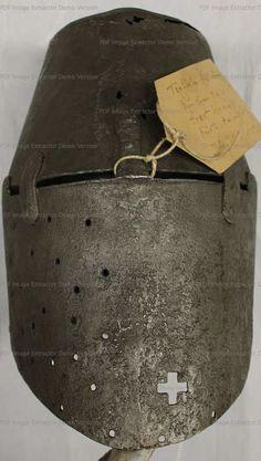 Great Helm, Germanisches Nationalmuseum, Nuremberg 1350-1380  German  ref_arm_1482_007