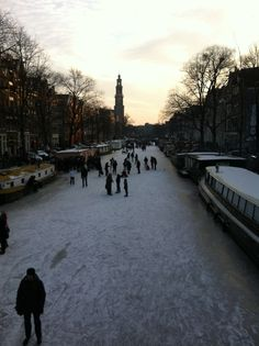 Winter @ the canals
