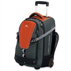 High Sierra export wheeled travel backpack