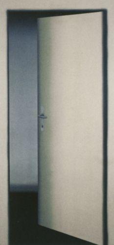 Gerhard Richter, 1 Tür (Probe) 1 Door (Test-piece), 1967, 200 cm x 98 cm, Oil on canvas