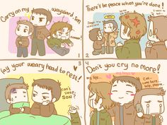Carry On My Wayward Son by MugenMusouka.deviantart.com on @deviantART