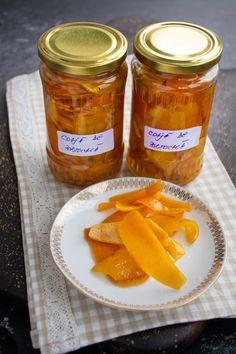 Coajă de portocală confiată - rețeta veche de cofetărie | Bucate Aromate