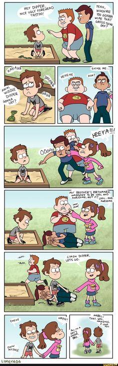 Gravity Falls Funny, Gravity Falls Fan Art, Gravity Falls Comics, Dipper And Mabel, Dipper Pines, Mabel Pines, Disney Memes, Disney Pixar, Funny Disney