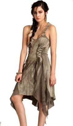 Lip Service Women's Warbird Vigilante Justice Dress (Small)