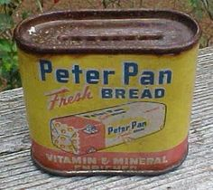 Unique Peter Pan Bread Advertising Bank