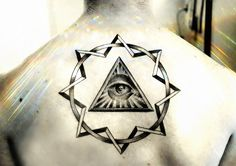 Another all seeing eye tattoo, I really like the depth of this one.