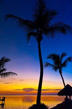 Sunset, Kona Kai Resort, Key Largo, Florida Keys, Florida USA | Blaine Harrington III