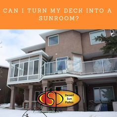 Sunroom Addition, Sunrooms, Next At Home, Home Improvement Projects, Calgary, Live For Yourself, Indoor Outdoor, Deck, Canning