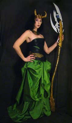 Loki Scepter  Full Scale 5 1/2 Feet Tall  by ThePotionsMistress