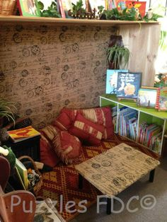 Book cave - Puzzles Family Day Care  ≈≈