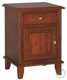 The Fifth Avenue Amish Door Nightstand combines your selection of wood, stain, and hardware to create a nightstand that is uniquely yours.
