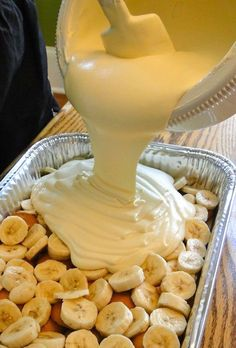 Not Yo Mama's Banana Pudding Recipe! The BEST banana pudding recipe ever!!! I want to lay on the pudding pillow.