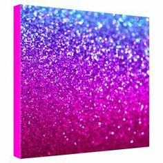"Canvas print with a glitter motif by Lisa Argyropoulos for DENY Designs. Made in the USA.  Product: Wall artConstruction Material: Canvas and woodFeatures:  Designed by Lisa Argyropoulos for DENY DesignsReady to hang Dimensions: 24"" H x 24"" W x 1.5"" D"