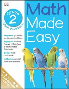 Math Made Easy: Second Grade Workbook (Math Made Easy): DK Publishing: 9780789457288: AmazonSmile: Books